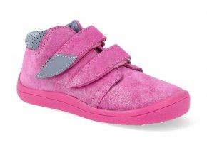 barefoot kotnikova obuv s membranou beda janette pink 2021 3
