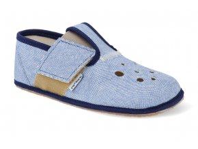 barefoot prezuvky pegres s prurezy modre 3