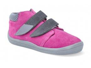 barefoot kotnikova obuv s membranou beda rebecca grey 2021 3