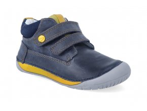 barefoot kotnikova obuv d d step s070 520 royal blue 2