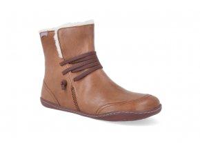 barefoot zimni boty camper peu cami brown k400505 006 4
