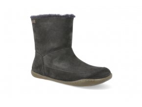barefoot zimni boty camper peu cami dark grey k400598 001 2