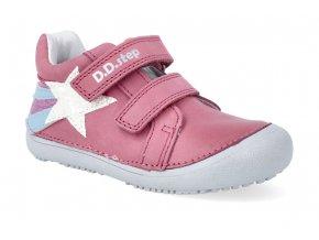 barefoot tenisky d d step s063 346a dark pink 3