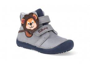 barefoot kotnikova obuv d d step a063 661am grey 3