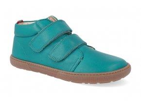 barefoot kotnikova obuv koel4kids don turquoise 32 35 4