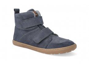 barefoot zateplena obuv koel4kids dark hidro warm dark grey 32 41 2