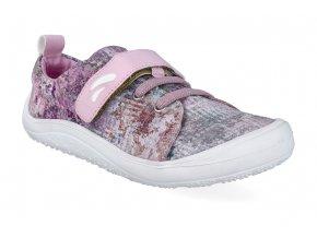 barefoot tenisky tikki shoes harlequin textil rust 2