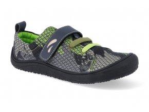 barefoot obuv tikki shoes harlequin textil army 4