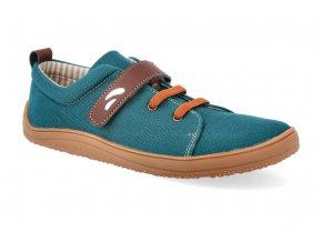 barefoot tenisky tikki shoes harlequin textil bosco 2