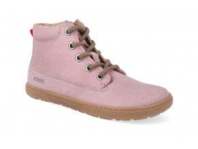 barefoot kotnikova obuv koel4kids eli hydro pink 30 35 3