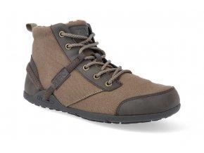 barefoot zateplena obuv xero shoes denver m brown 2