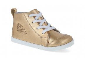 kotnikova obuv bobux alley oop gold metallic 2