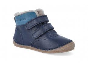 zimni obuv froddo flexible sheepskin blue 4