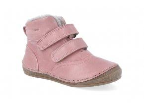 zimni obuv froddo flexible sheepskin pink 3 4