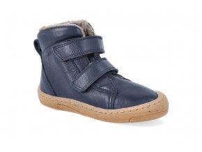 barefoot zimni obuv froddo narrow wool blue 2 2