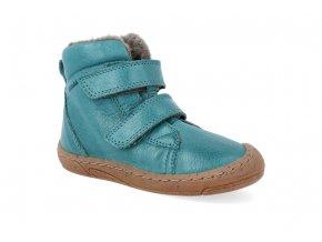 barefoot zimni obuv froddo narrow wool petroleum 2 4