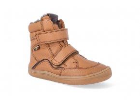 barefoot zimni obuv s membranou froddo bf cognac 2 4