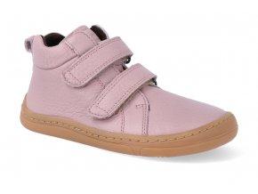 barefoot kotnikova obuv froddo bf autumn pink 2 4