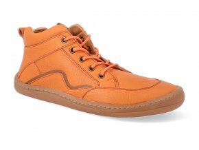 barefoot kotnikova obuv froddo bf orange tkanicka 2