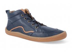 barefoot kotnikova obuv froddo bf blue tkanicka 4