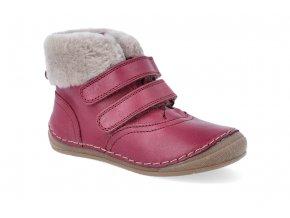 zimni obuv froddo flexible sheepskin girl bordeaux 4 4