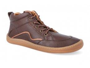 barefoot kotnikova obuv froddo bf brown tkanicka 4