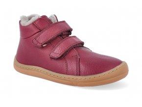 barefoot zimni obuv froddo bf winter furry bordeaux 2 2