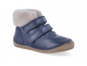zimni obuv froddo flexible sheepskin girl blue 4