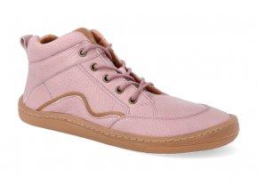 barefoot kotnikova obuv froddo bf pink tkanicka 2