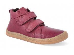 barefoot kotnikova obuv froddo bf autumn bordeaux 2 2