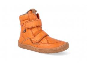 barefoot zimni obuv s membranou froddo bf orange 2 2