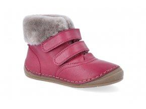 zimni obuv froddo flexible sheepskin girl wine 2