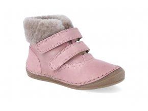 zimna obuv froddo flexible sheepskin girl pink 3 4
