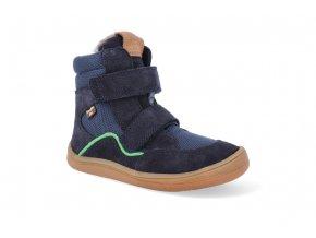 barefoot zimni obuv s membranou froddo bf dark blue 2 4