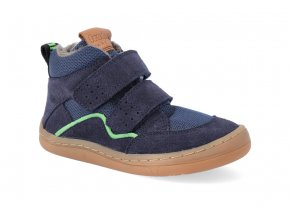 barefoot zimni obuv froddo bf winter wool dark blue 2 2