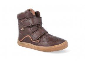 barefoot zimni obuv s membranou froddo bf brown 2 2