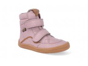 barefoot zimni obuv s membranou froddo bf pink 2 4