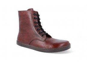 barefoot zimni obuv peerko go 2 0 cognac 4