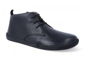 barefoot zimni obuv blifestyle classicstyle bio nappa wool black 2