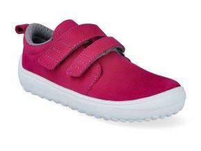 barefoot tenisky be lenka jolly dark pink 4