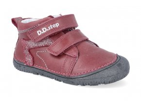 barefoot tenisky d d step s073 504b red 2 4