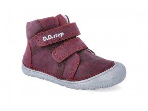 barefoot kotnikova obuv d d step a073 874a red 2 4