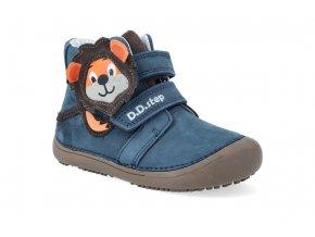 barefoot kotnikova obuv d d step a063 661 royal blue 4