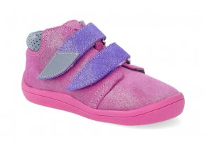 barefoot kotnikova obuv s membranou beda janette violet 2021 2