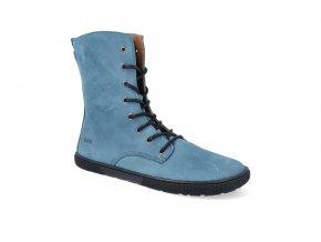 barefoot kotnikova obuv koel4kids faro adult turquoise 2
