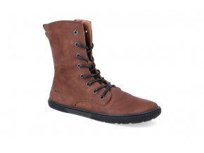 barefoot kotnikova obuv koel4kids faro adult chocolate 2