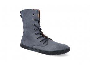 barefoot kotnikova obuv koel4kids faro adult dark grey 2