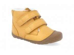 barefoot zimni obuv bundgaard petit mid winter yellow 4