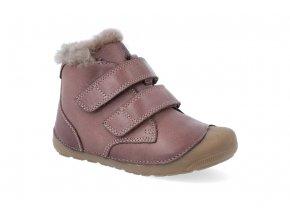 barefoot zimni obuv bundgaard petit mid lamb brown 4