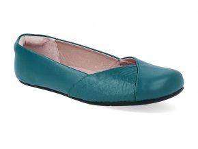 barefoot baleriny xero shoes phoenix teal leather 4